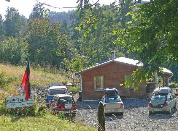 Adela and Helmut Hostel, Temuco