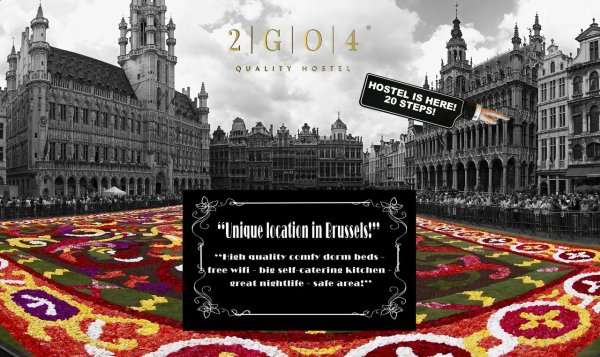 2GO4 Hostel Grand Place, Bruksela