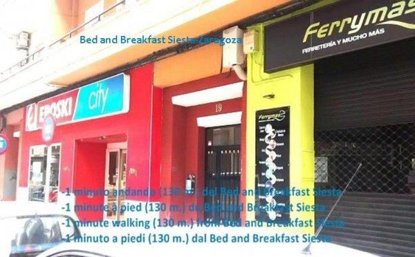B&B Siesta en Zaragoza, Zaragoza