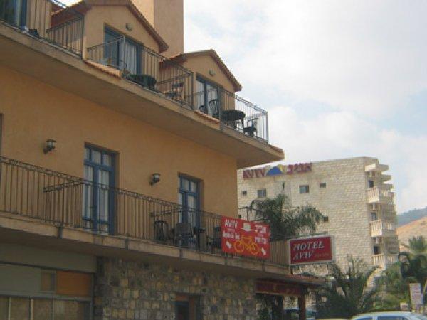 Aviv Hotel, Tiberias