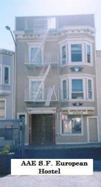 European Hostel, San Francisco