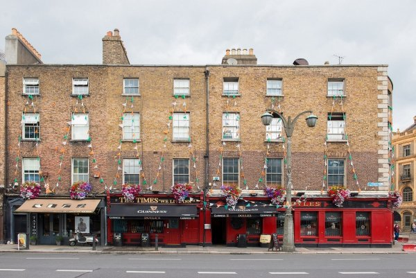 The Times Hostel - College Street, Dublinas