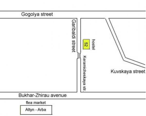 Bakhytty Hostel Kazakhstan, Karaganda
