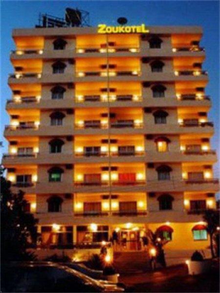 Zoukotel hotel, Jounieh