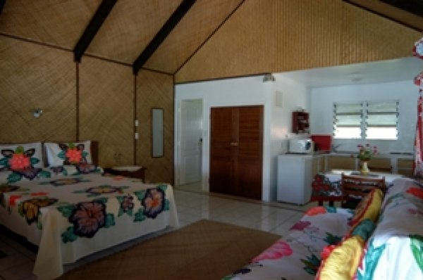 Inano Beach Bungalows, Aitutaki