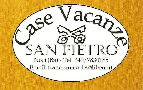 Case Vacanze San Pietro, नोकी