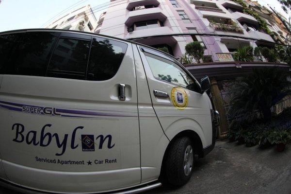 Babylon Garden Service Apartments, Dhaka