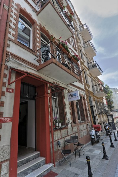 Hush Hostel Lounge, Istanbul