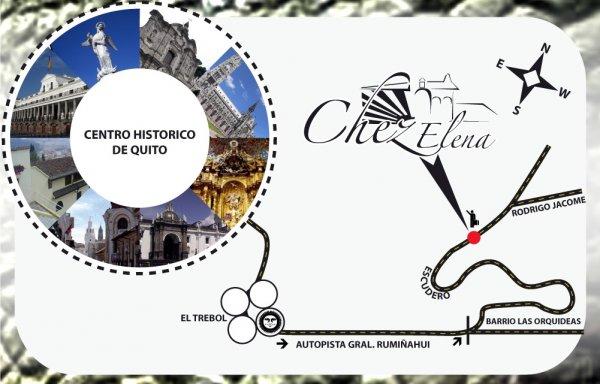 Chez Elena Guesthouse, Quito