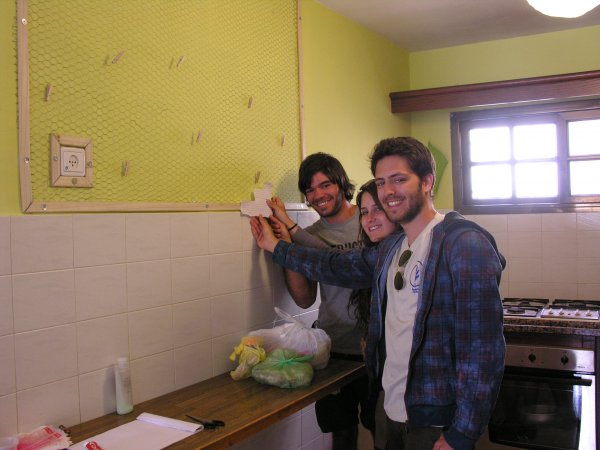 The Green Backpackers, Mitzpe Ramon