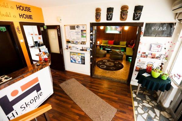 Hi Skopje Hostel, Σκόπια
