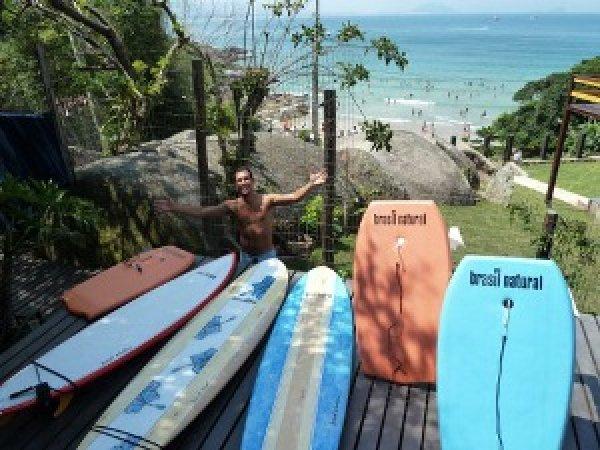 Barra Beach Club Oceanfront Hostel, Florianópolis