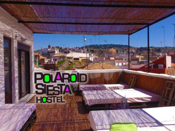 Polaroid Siesta Hostel, Granada
