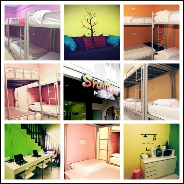 Snooze Hostel @ Chinatown, Singapore