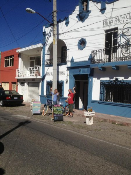 Blue Bicycle House, Queretaro