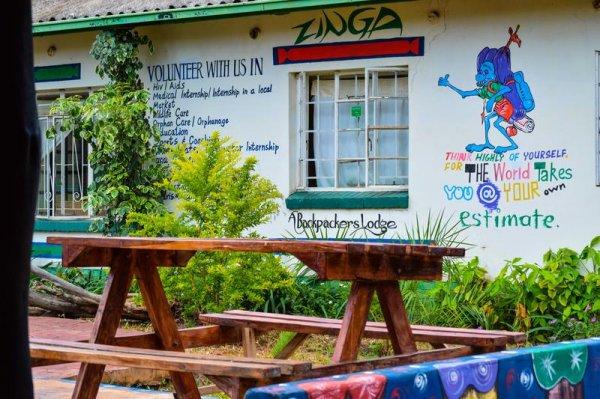 Zinga Backpackers, Ливингстон