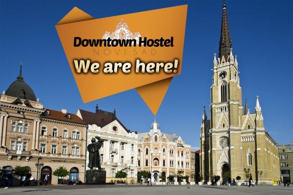 Downtown hostel Novi Sad, Novi Sad
