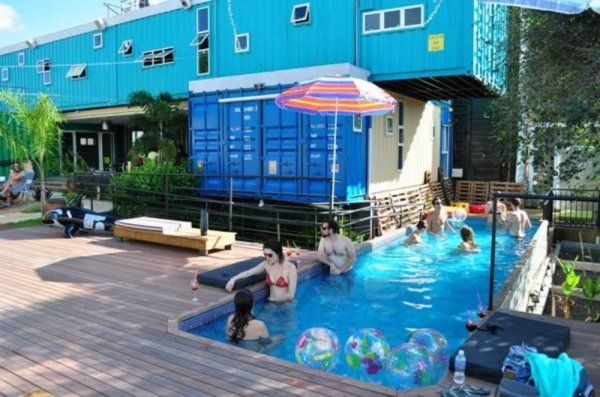 Tetris Container Hostel, Фос-ду-Игуасу