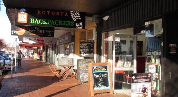 Rotorua Downtown Backpackers, Rotoruja