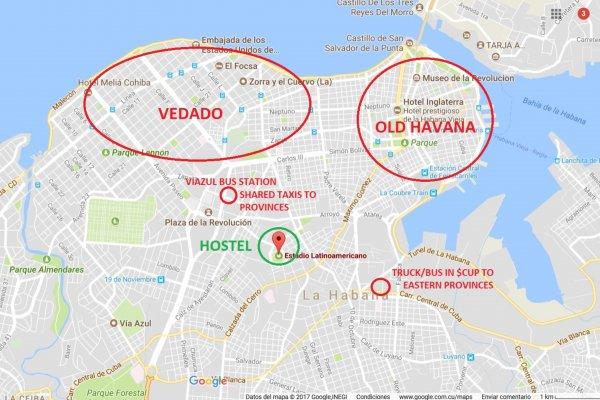 Enzo´s Backpackers, La Habana