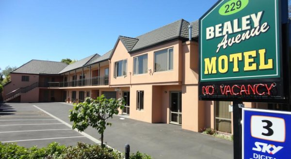 Bealey Avenue Motel, Карйсчърч