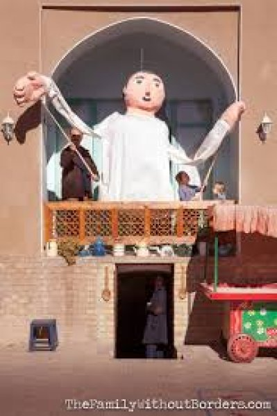 puppet museum house, Kashan