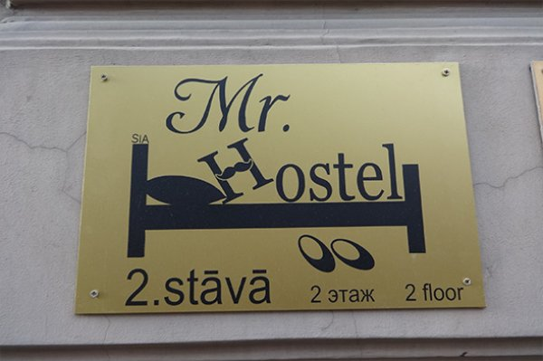 Mr. Hostel, Ryga