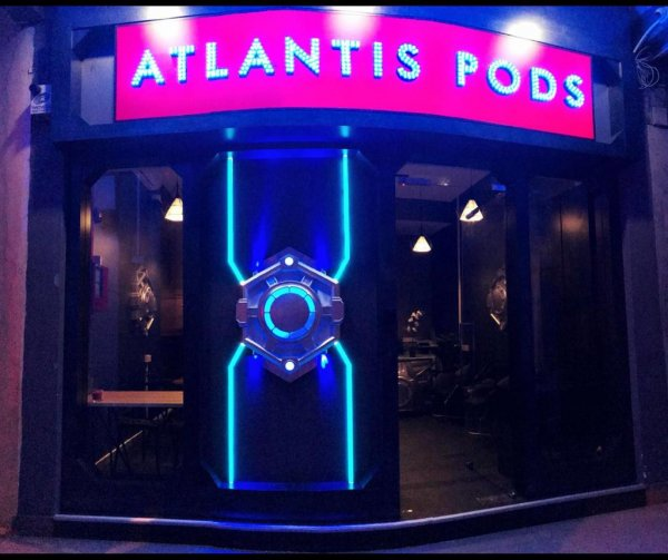 Atlantis Pods @ Little India, Singapur