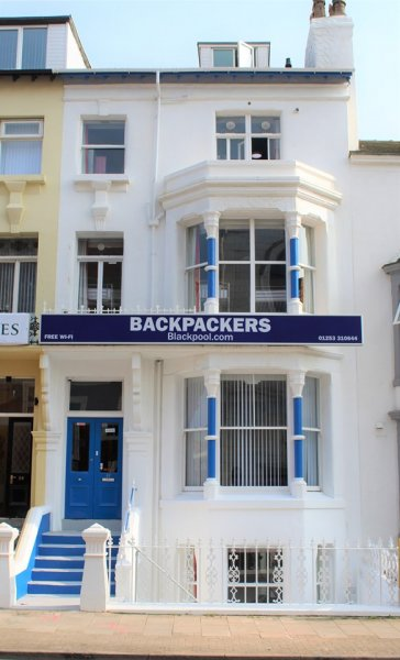 Backpackers Blackpool, 布莱克浦(Blackpool)
