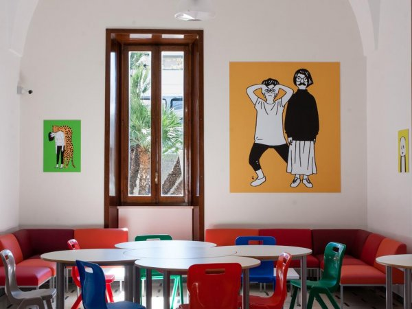 Lobby Collective Hostel, Lecce
