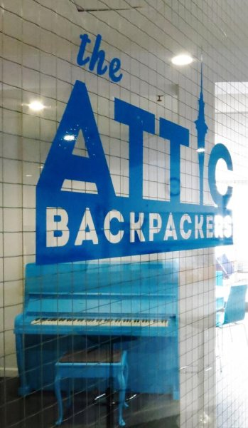 Attic Backpackers, Auckland