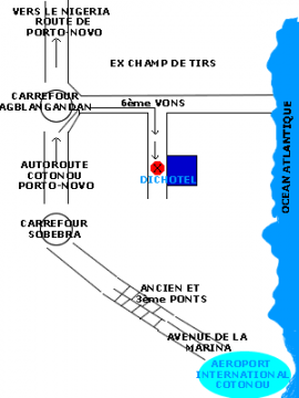 Dichotel, Cotonou
