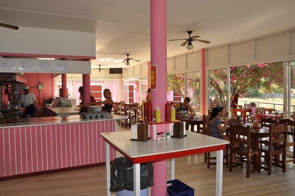 The Pink Palace Hostel, Corfu