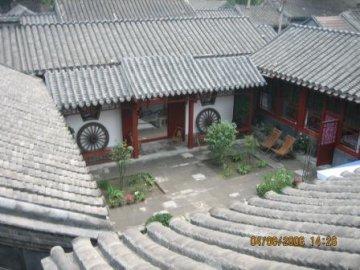 Beijing Templeside Courtyard Hutong House, Beijing