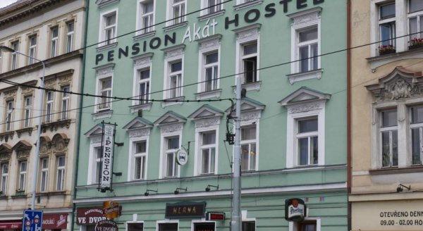 Akát Pension, Praha