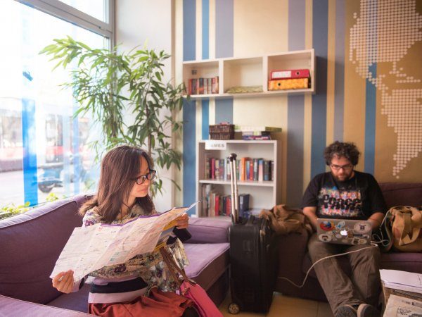 wombat's CITY Hostels Vienna – the LOUNGE, Viena