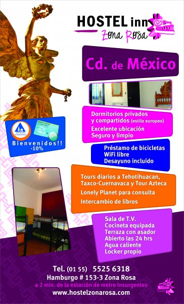Hostel Inn Zona Rosa Hostel In Mexico City Hostelsclub